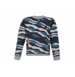 Jumping The Couch Sweater camo met ritsen multi