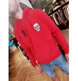 AH6 Ah6 6 hoodie - rood