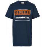 Cost:bart T-shirt 14395 blauw
