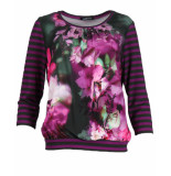Frank Walder T-shirt w91208423 paars