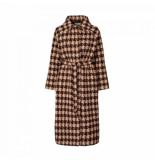 Lollys Laundry Cloe coat 19352 6003 bruin