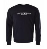 Emporio Armani 8n1me8 1j04z sweater zwart