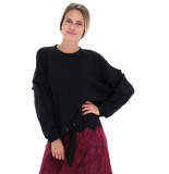 Twin-set 192tp2381 sweater zwart