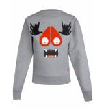 Moose Knuckles Mk4701ls sweater grijs