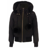 Moose Knuckles Mk2002lb debbie jas zwart