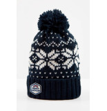 French Disorder Beanie megeve muts blauw