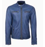 Goosecraft Glasgow biker blauw
