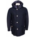Woolrich Arctic parka nf melton jas blauw