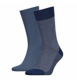 Tommy Hilfiger 2-pack sokken 322 blauw