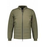 Denham Carbon liner jas groen