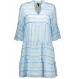 Vero Moda Vmfareh 3/4 tunic fx 10230060 cool blue/zigzag blauw