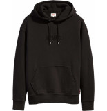 Levi's Relaxed graphic hoodie zwart