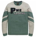 PME Legend Long sleeve r-neck light terry jasper groen