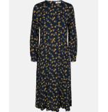 MOSS COPENHAGEN Fryd turid ls dress blauw