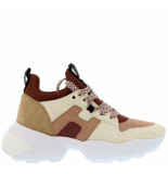 Hogan Sneakers interactive gyw4870 bruin cognac
