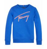 Tommy Hilfiger Sweatshirt kb0kb05070 blauw