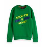 Scotch Shrunk Pullover 150817 groen