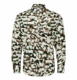 Selected Homme bryson shirt groen