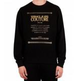 Versace Jeans Crewneck rope - zwart