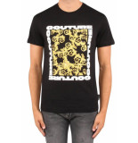 Versace Jeans Couture square tee - zwart