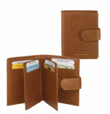 dR Amsterdam Creditcard-etui Camel One size