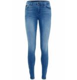 Noisy may Nmkimmy nw ankle zip jeans az062lb 27006065 light blue denim blauw