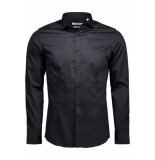 Jack & Jones Jjprparma shirt l/s noos 12097662 black zwart