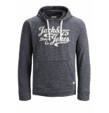 Jack & Jones Jjepanther sweat hood noos 12141011 navy r/reg fit blauw