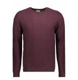 Jack & Jones Jjestructure knit crew neck noos 12137171 port royale/twisted roze