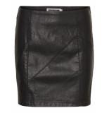 Noisy may Nmrebel pu nw short skirt noos 27000753 black zwart