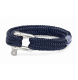 Pig & Hen P14-63000 pig&hen armband gorgeous george | navy | silver