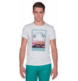 Scotch & Soda T-shirt met korte mouwen wit