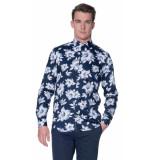 Blue Industry Casual overhemd met lange mouwen blauw