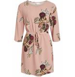 VILA Ia 3/4 sleeve dress fav lux 14053371 ash rose/niala roze