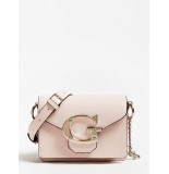 Guess Mini crossbody flap tas lichtroze