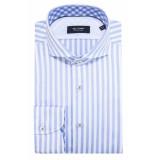 Olymp Signature modern fit overhemd met lange mouwen blauw