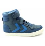 Hummel 201970 hoge sneaker blauw