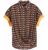 Maison Scotch Short sleeve button up shirt