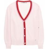 10 Feet Sheer cardigan pointelle knit roze