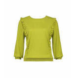Expresso Top - butterfly top green groen