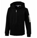 Puma Rebel bold fz hoody fl 852437-001 zwart
