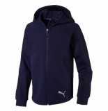 Puma Evostripe hooded jacket 580336-06 blauw