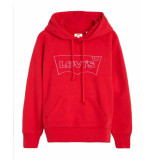 Levi's Levi's sweatshirt 35946-0067 rood