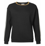 Geisha Sweatshirt 93567-60 zwart