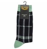 PME Legend Sock box cotton mix socks oil blue blauw
