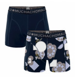 Muchachomalo 2-pack men cotton modal pollinate