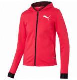 Puma Women hooded zip jacket 580590-02 roze
