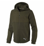 Puma Evostripe hooded jacket 580336-70 groen