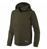 Puma Evostripe hooded jacket 580336-70 groen