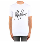 Malelions Signature t-shirt wit